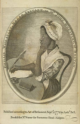 Etc. Photograph - Phillis Wheatley by British Library