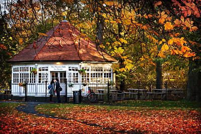 Photograph - Phoenix Park Tea Rooms - Dublin by Barry O Carroll