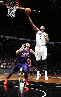 Photograph - Phoenix Suns V Brooklyn Nets by Nathaniel S. Butler