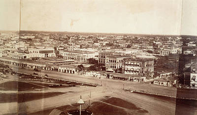 Colonial Architecture Photograph - Photograph Of Calcutta by British Library