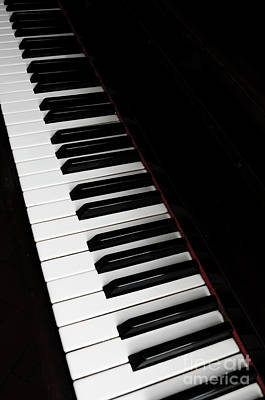 Old Keys Photograph - Piano by Jelena Jovanovic