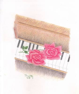 Piano Pinks Art Print by Dusty Reed