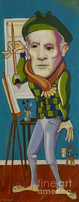 Painting - Picasso by Matthew Livsey