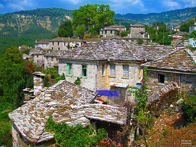 Photograph - Picturesque Village by Alexandros Daskalakis