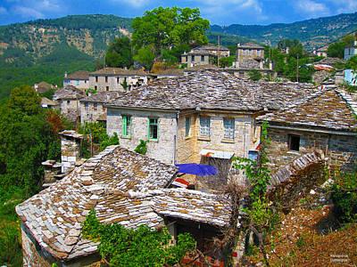 Photograph - Picturesque Village by Alexandros Daskalakis