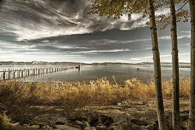 Photograph - Pier In A Lake by Celso Diniz