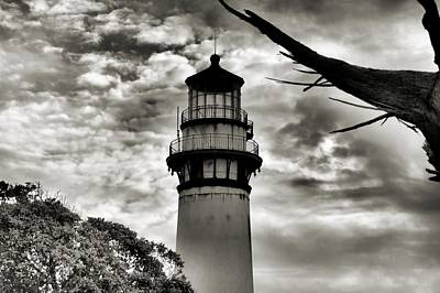 Photograph - Pigeon Point Lighthouse by Bob Wall