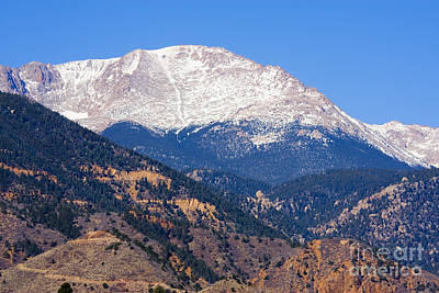 Recently Sold - Steven Krull Royalty-Free and Rights-Managed Images - Pikes Peak by Steven Krull