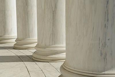 Travel Photograph - Pillars by Brandon Bourdages