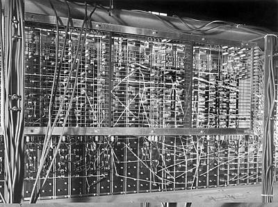 Resistor Photograph - Pilot Ace Computer Components, 1950 by Science Photo Library