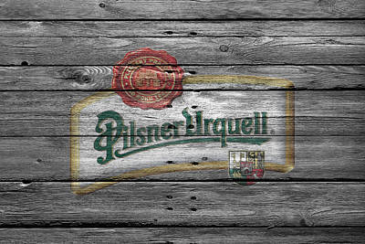 Saloon Photograph - Pilsner Urquell by Joe Hamilton