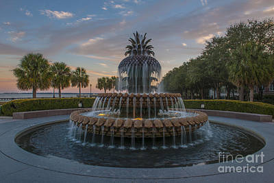 Photograph - Trickling Water At Sunset by Dale Powell