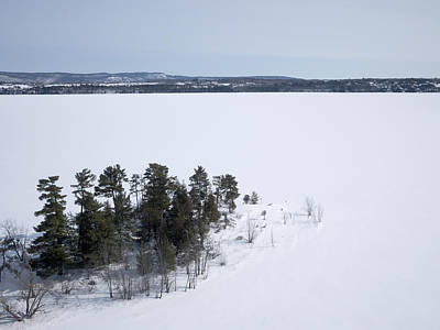 Photograph - Pinheys Point In Winter, Dunrobin by Rob Huntley