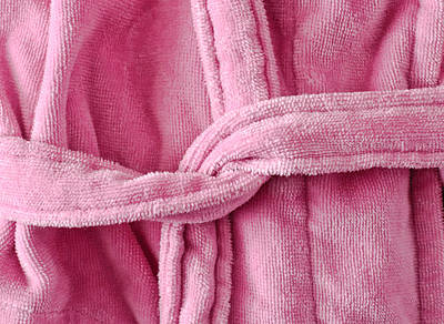 Dressing Photograph - Pink Dressing Gown by Tom Gowanlock