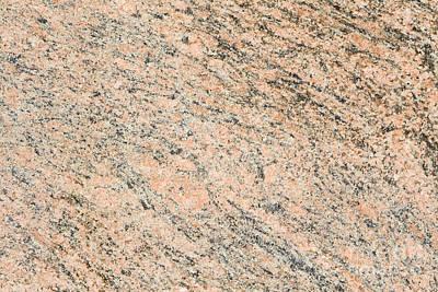 Speckled Granite Photograph - Pink Granite  by Jim Pruitt