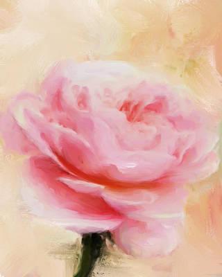 Painting - Pink Rose by Jai Johnson