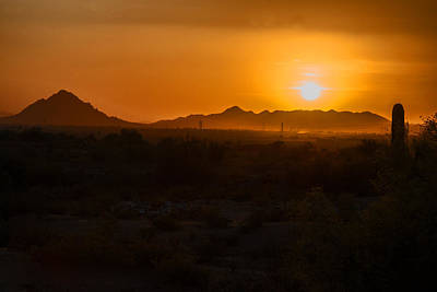 Photograph - Piestewa Peak Sunset by Tam Ryan