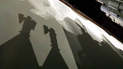 Photograph - Pipe Organ Shadows by Kenny Glover