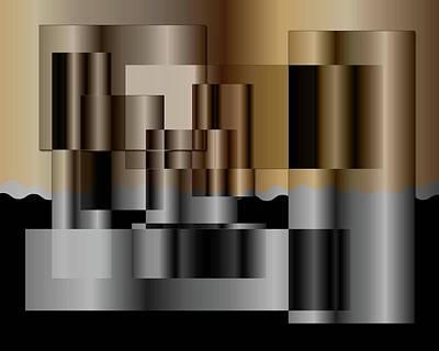 Digital Art - Pipes by Iris Gelbart