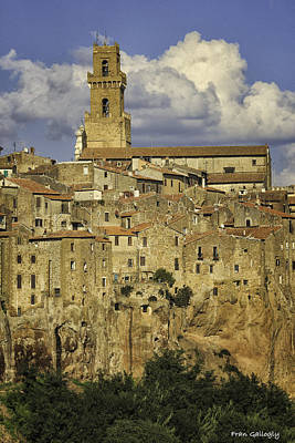 Photograph - Pitigliano by Fran Gallogly
