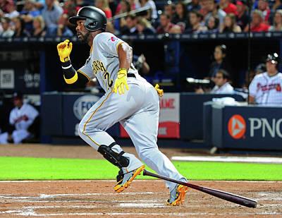 Photograph - Pittsburgh Pirates V Atlanta Braves by Scott Cunningham
