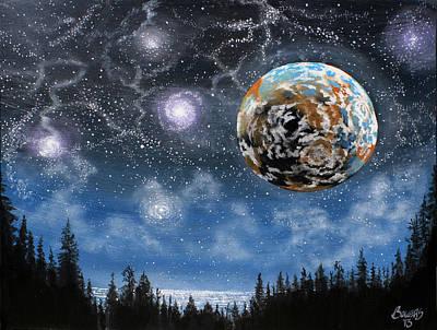 Planet X Niburu Art Print by Jim Bowers