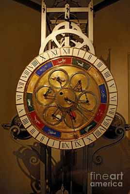 Photograph - Planetary Clock by Martin Shields