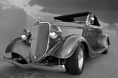 Photograph - Platinum Roadster  by Bill Dutting