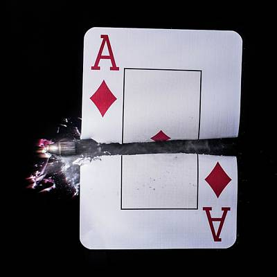 Trick Photograph - Playing Card Trick Shot by Herra Kuulapaa � Precires
