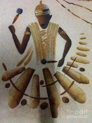 Faniart Africa America Photograph - Playing The People by Fania Simon