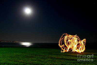 Photograph - Playing With Fire 3 by Theresa Ramos-DuVon