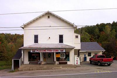 Photograph - Pleezing Authorized Food Store by R B Harper