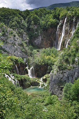 Photograph - Plitvice Lakes National Park by Laura Melis
