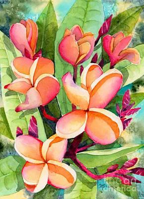 Painting - Plumeria by Melanie Pruitt