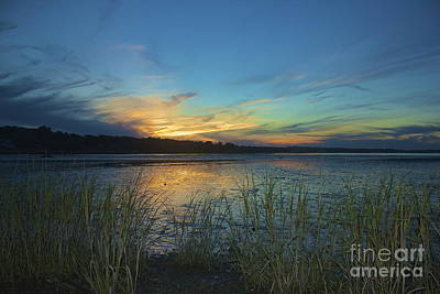 Photograph - Plymouth Harbor Sunset by Amazing Jules