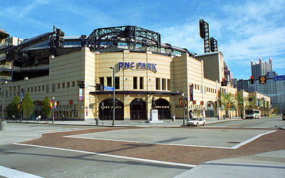 Pnc Park - Pittsburgh Pirates Print by Frank Romeo