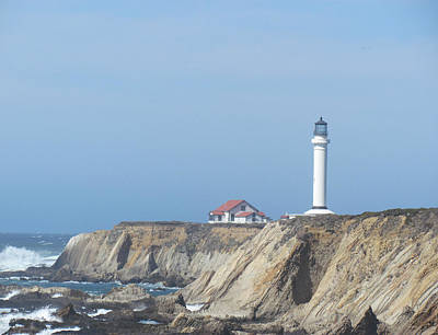 Photograph - Point Arena Lighthouse by Bonnie Muir
