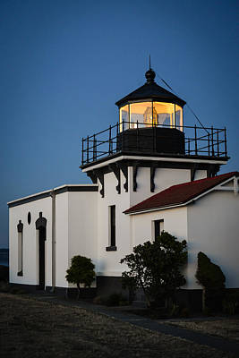 Photograph - Point No Point Lighthouse by Ronda Broatch