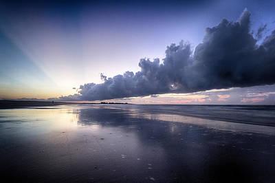 Photograph - Sunrise Cloud Reflection  by Alan Raasch