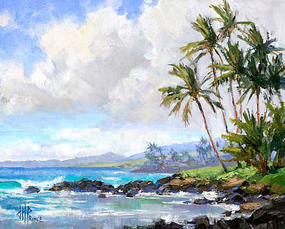 Painting - Poipu Beach #1 by Jenifer Prince