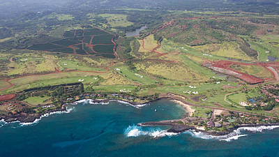 Photograph - Poipu Kauai by Steven Lapkin