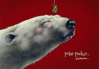 Painting - Polar Pucker... by Will Bullas