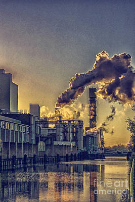Photograph - Pollution by Patricia Hofmeester