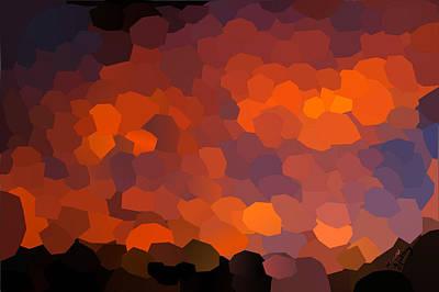 Landscapes Kadek Susanto - Polygon Sunset by Bruce Nutting