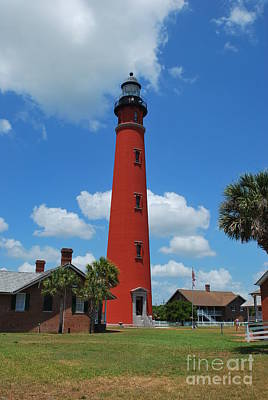 Photograph - Ponce Lighthouse  by Bob Sample