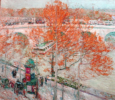 Pont Royal Paris Art Print