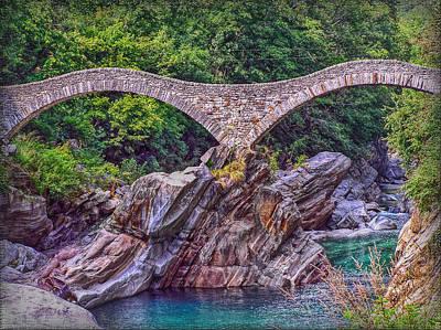 Photograph - Ponte Dei Salti by Hanny Heim