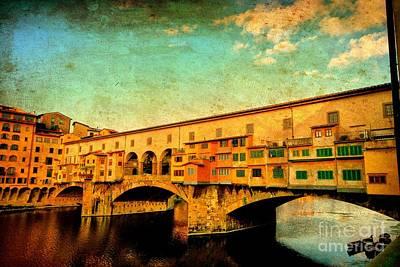 Ponte Vecchio 01 Art Print