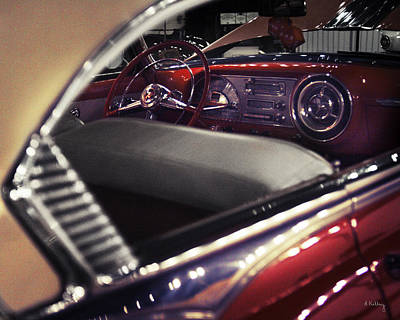 Photograph - Pontiac Chieftain  by Andrea Kelley