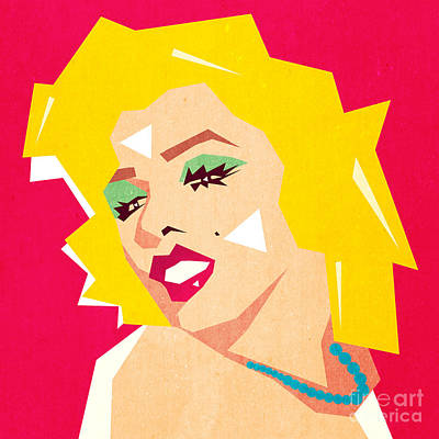 Female Mixed Media - Pop Art  by Mark Ashkenazi